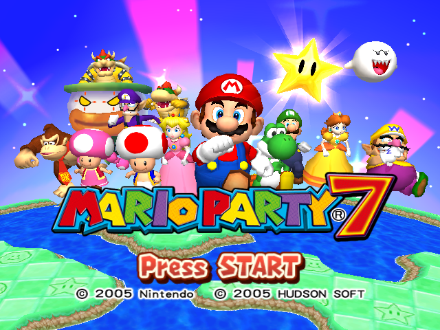 File:Mario Party 7 Title Screen.png