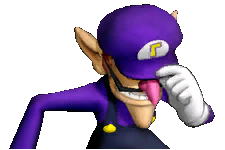 Image result for sad waluigi