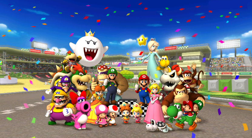 YOU ARE MARIO PARTY LEGACY?S FAVORITE MARIO KART WII PLAYABLE