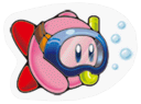 Sticker Kirby Dive.png