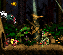 Ghostly Grove DKC2 shot.png