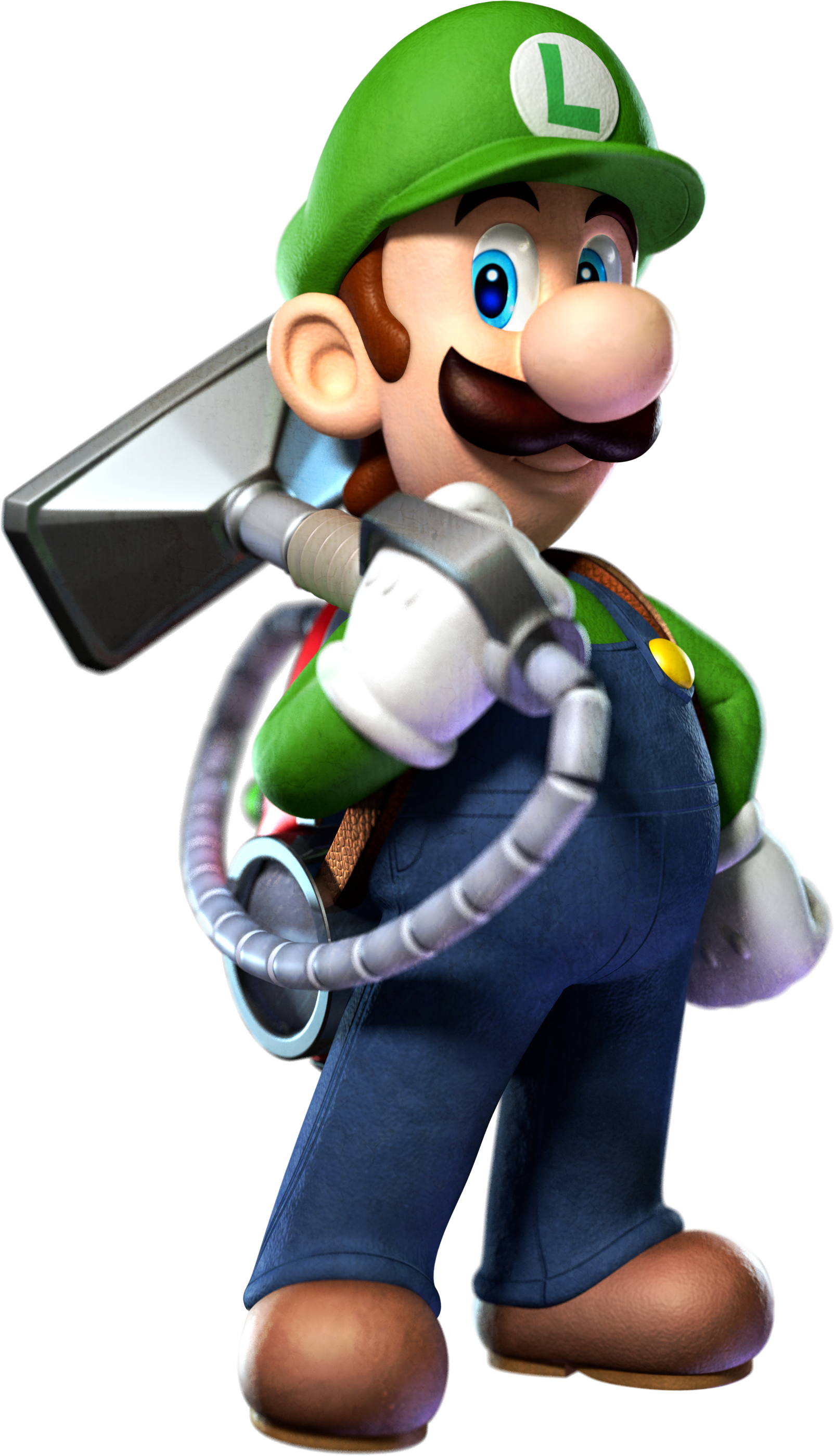 I'm scared of ghosts. Luigi_Pose_-_Luigi%27s_Mansion_Dark_Moon