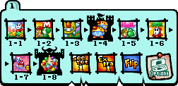 World 1 Map - Yoshi's Island DS.png