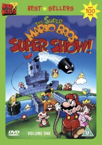 The Super Mario Bros Super Show Volume One Dvd Super Mario