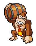 DK with Barrel Sticker.png