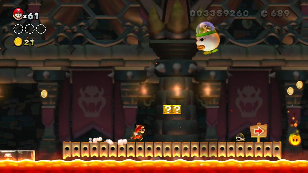 The Final Battle New Super Mario Bros U Super Mario Wiki The