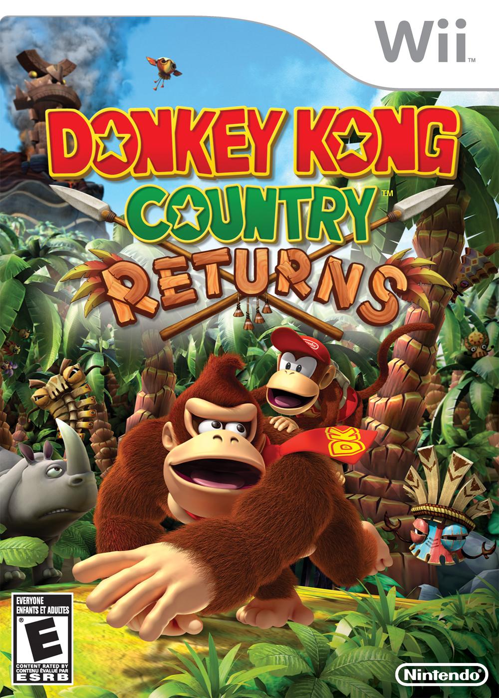 Donkey Kong Country Returns Super Mario Wiki The Mario Encyclopedia