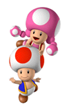 Toad and Toadette Sticker.png