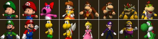 On Character Selection Mario Kart P 1 Source Gaming