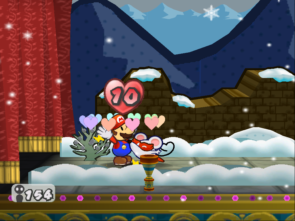 Smooch Paper Mario The Thousand Year Door Super Mario