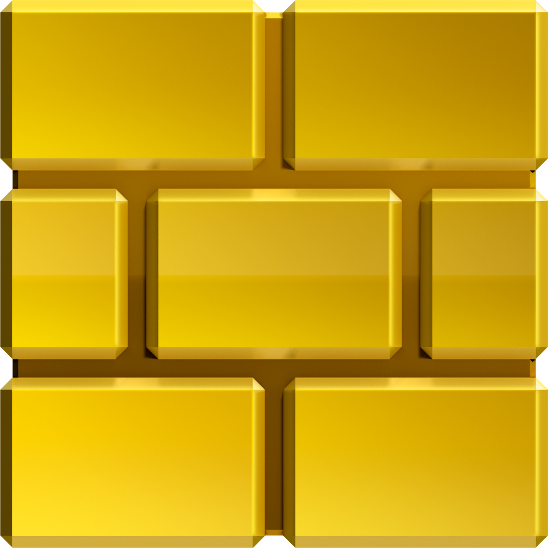 Golden Brick Block