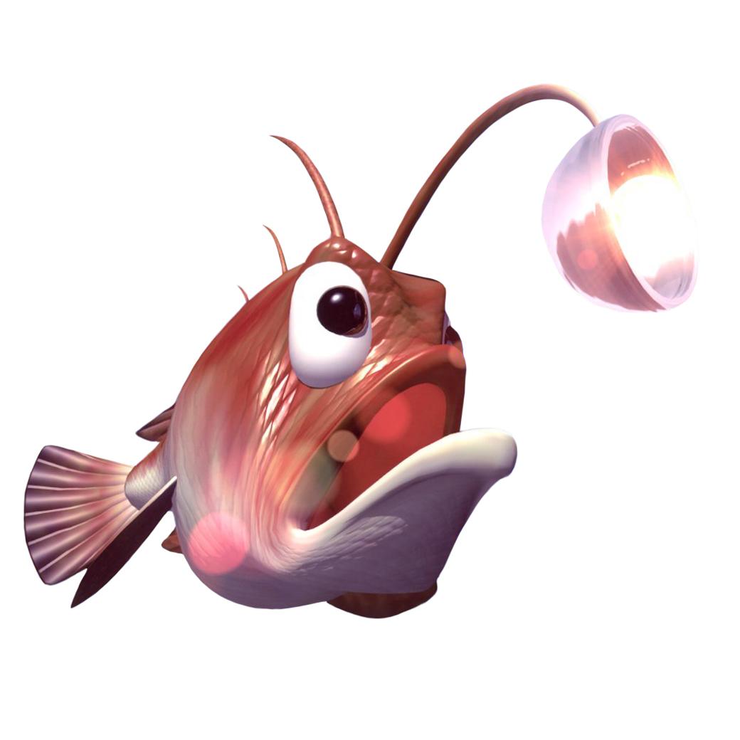 Glimmer The Angler Fish Super Mario Wiki