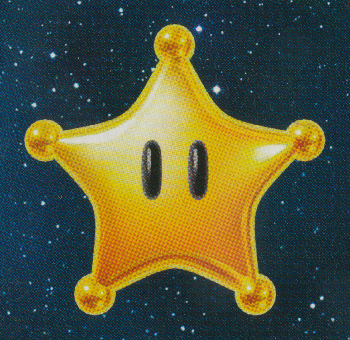 power star super mario galaxy - photo #6