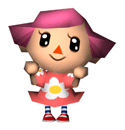 Girl Animal Crossing Sticker.png