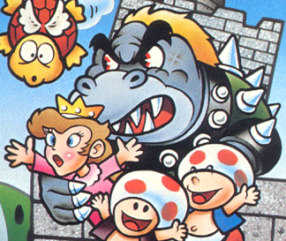 File:Bowser and Peach original SMB.png