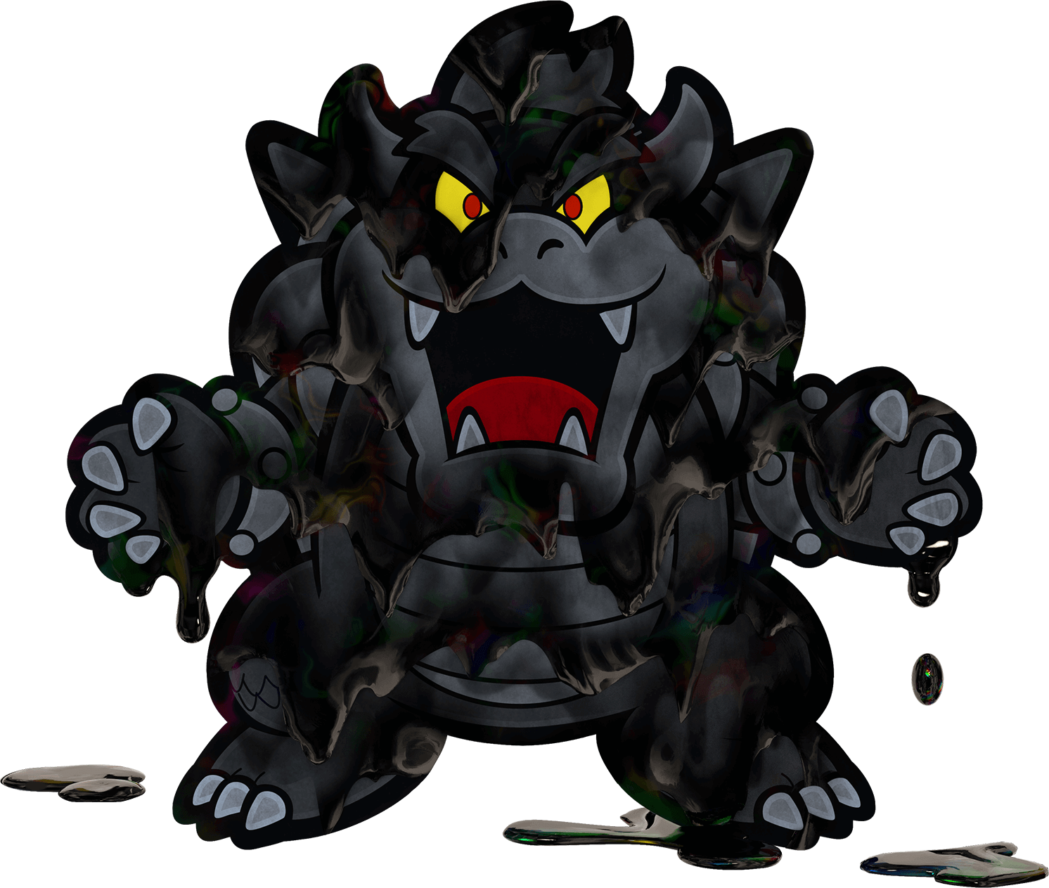 Black Bowser Super Mario Wiki The Mario Encyclopedia