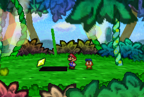 PM Star Piece GoombaVillageGrassland.png