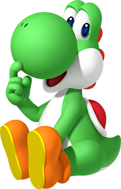 File:P&DSMBE Artwork Yoshi.png - Super Mario Wiki, the ...