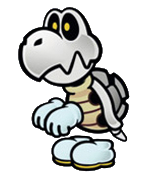 paper mario sticker star coloring pages - mario dry bones colouring pages