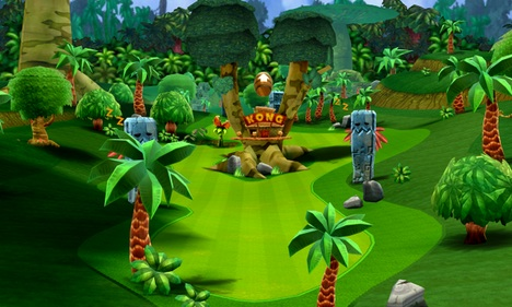 Dk Jungle Golf Course Super Mario Wiki The Mario