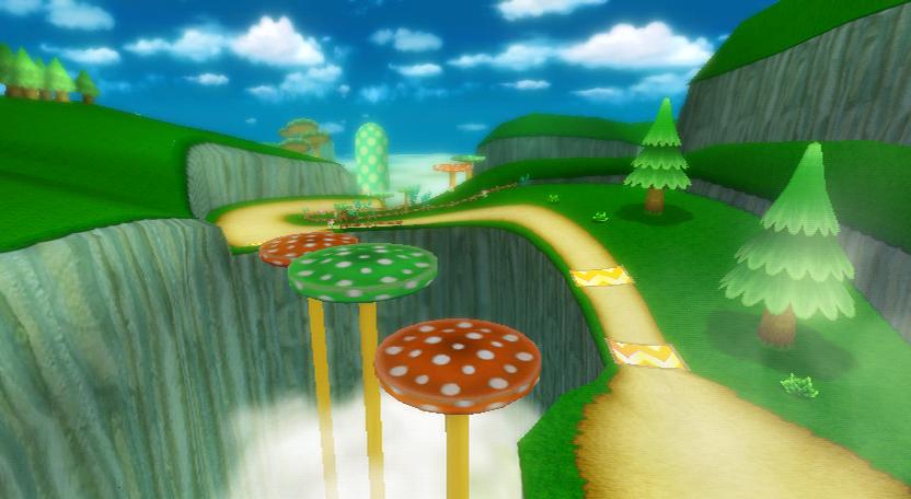 Mushroom Gorge Super Mario Wiki The Mario Encyclopedia