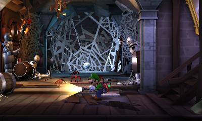 Cellar Luigi S Mansion Dark Moon Super Mario Wiki