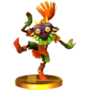 SSB3DS Skull Kid trophy.png
