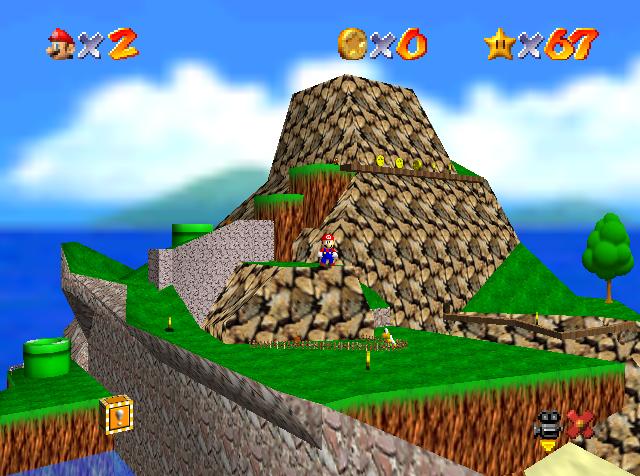 Tiny-Huge Island - Super Mario Wiki, the Mario encyclopedia