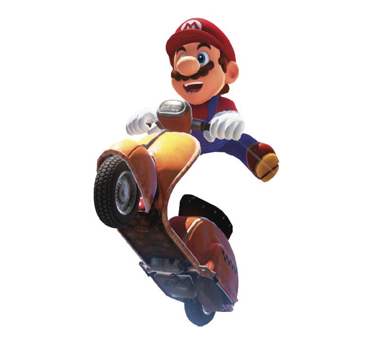 New Vehicles 2017 >> Motor Scooter - Super Mario Wiki, the Mario encyclopedia