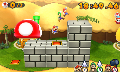 Mario Luigi Paper Jam You Got Your Paper In My Brothers