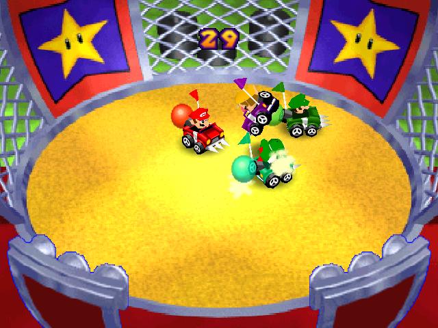 Bumper Balloon Cars - Super Mario Wiki, the Mario encyclopedia