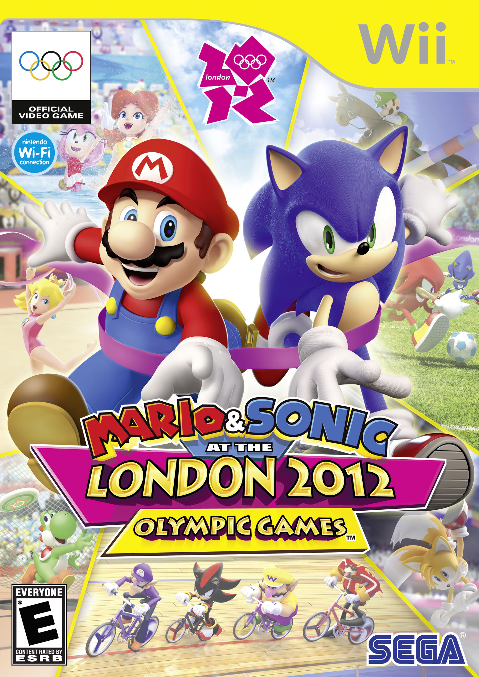 Mario & Sonic at the London 2012 Olympic Games (Wii) - Super