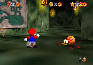 Hazy Maze Cave - Super Mario Wiki, the Mario encyclopedia