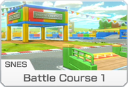SNES Battle Course 1