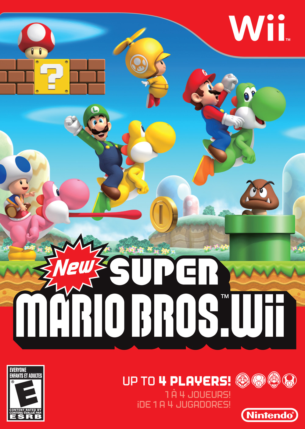 New Super Mario Bros Wii Super Mario Wiki The Mario Encyclopedia