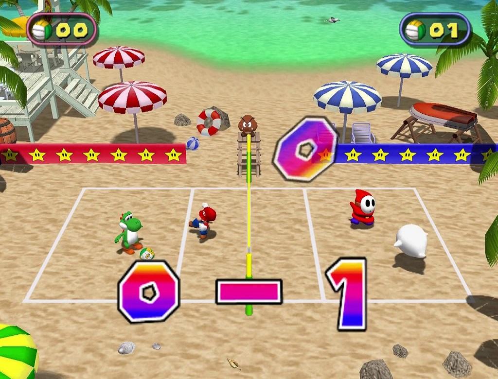 Beach Volley Folly Super Mario Wiki The Mario Encyclopedia