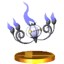 SSB4 Trophy Chandelure.png