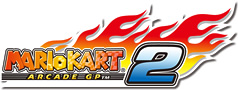 The logo for Mario Kart Arcade GP 2.