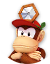 DrMarioWorld - Icon Diddy Kong.png