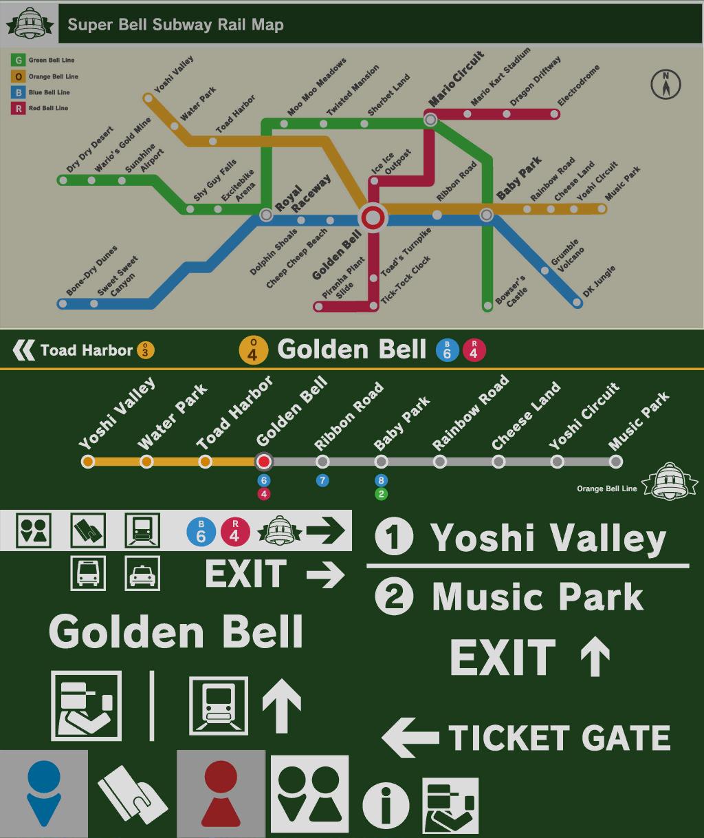 Subway Map Sign.Super Bell Subway Super Mario Wiki The Mario Encyclopedia