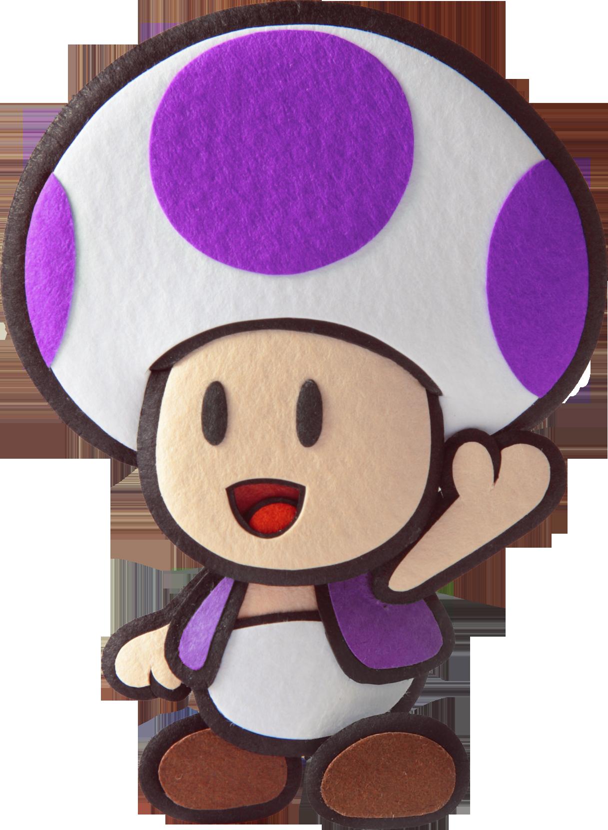 Purple toad