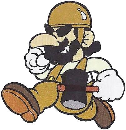 Foreman Spike - Super Mario Wiki, the Mario encyclopedia