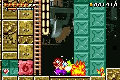Blame Game >> Flaming Wario - Super Mario Wiki, the Mario encyclopedia