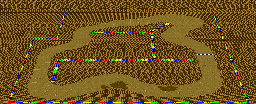 SMK Choco Island 1 Lower-Screen Map.png
