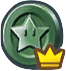 Super Mario Run - Black Challenge Coin (Crown).png