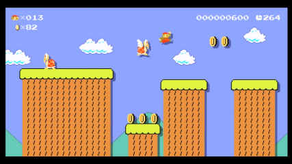 Super Nintendo World >> World 3-1 (Super Mario Maker for Nintendo 3DS) - Super Mario Wiki, the Mario encyclopedia