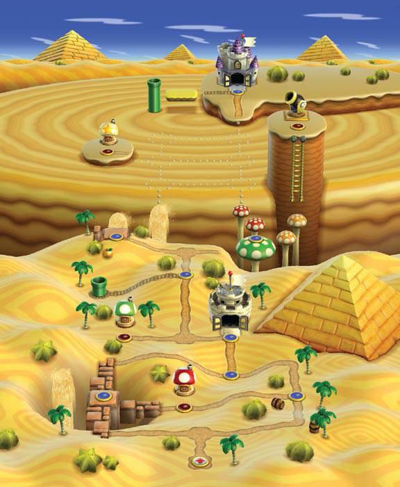 World 2 New Super Mario Bros Wii Super Mario Wiki The Mario