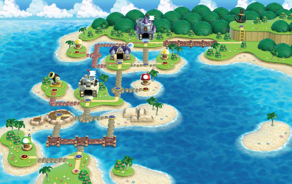 World 4 New Super Mario Bros Wii Super Mario Wiki The Mario