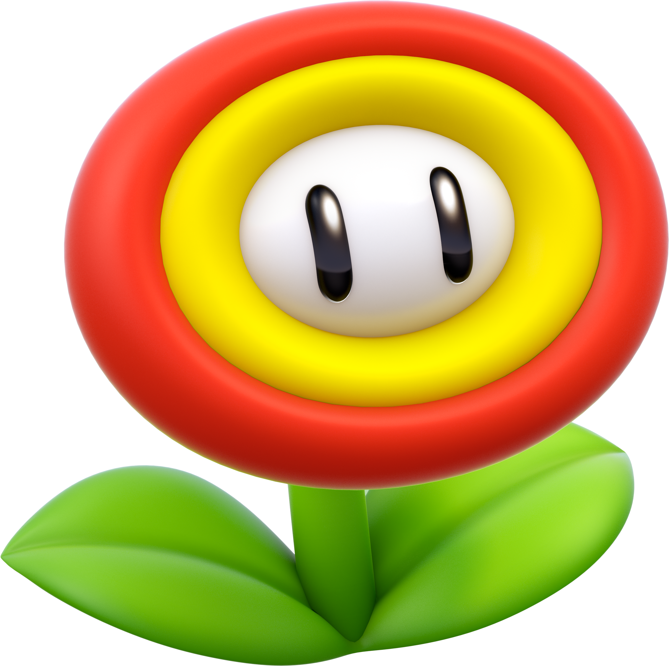 Super mario fire flower coloring pages - Fire Flower