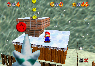 Frosty Slide for 8 Red Coins - Super Mario Wiki, the Mario